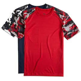 Badger Camo Sleeve Performance Shirt