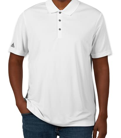 Adidas Performance Polo - White