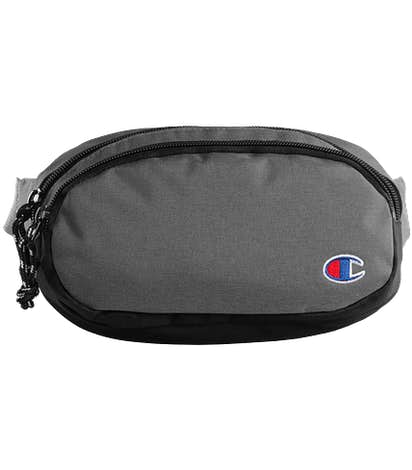 Champion Fanny Pack - Heather Granite / Black