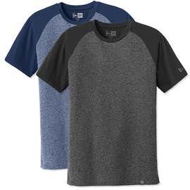 New Era Heritage Blend Short Sleeve Raglan T-shirt