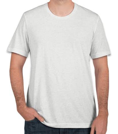 Canada - Bella + Canvas Tri-Blend T-shirt - White Fleck Tri-Blend