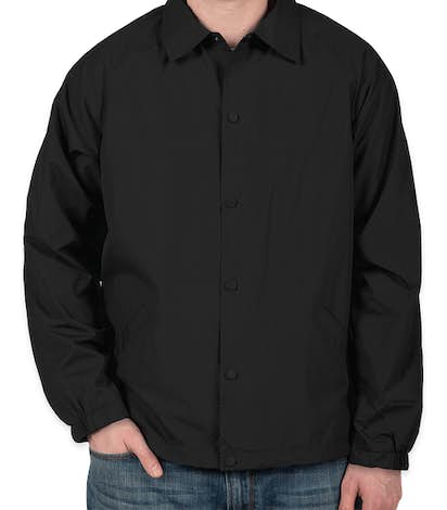 Sport-Tek Coaches Jacket - Black
