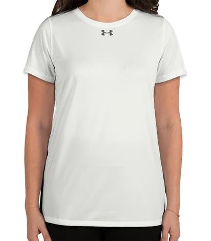Under Armour Women's Locker Performance Shirt 2.0 - White