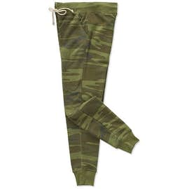 Alternative Apparel Women's Camo Joggers