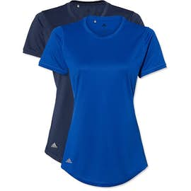 Adidas Women's Solid 100% Recycled UPF Performance Shirt