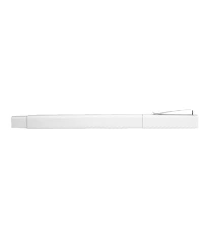 Ambassador Square Ballpoint Pen (black ink) - White