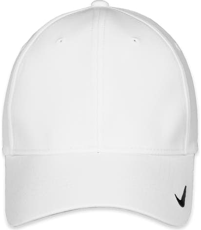 Nike Golf Swoosh Legacy Performance Hat - White / White