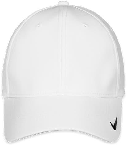 Nike Swoosh Legacy Performance Hat - White / White