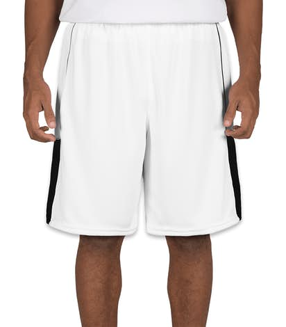 Teamwork Surge Lacrosse Short - White / Black