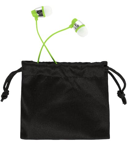 Bustle Bluetooth Earbuds - Lime Green