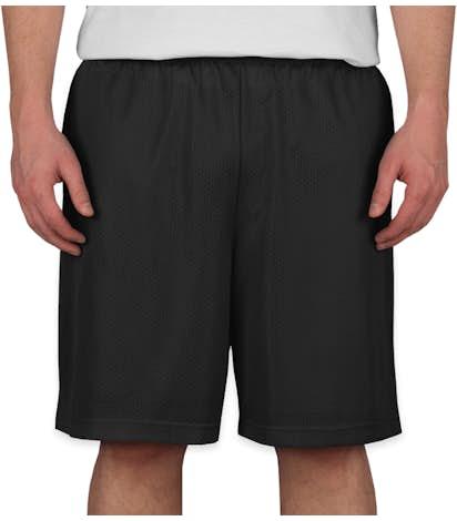 Sport-Tek Mesh Shorts - Black