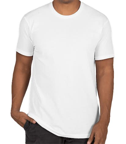 Next Level Sueded T-shirt - White
