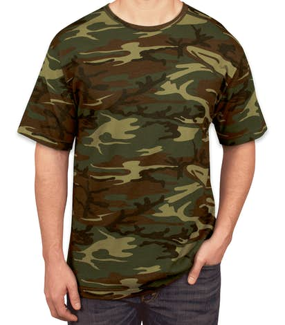 0ff93dab Custom Code 5 Camo T-shirt - Design Short Sleeve T-shirts Online at ...