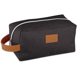 Heathered Toiletry Dopp Kit