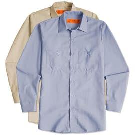 Canada - Red Kap Long Sleeve Industrial Work Shirt