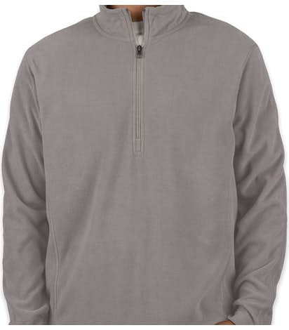 db854af8c94 Custom Port Authority Quarter Zip Microfleece Pullover - Design ...