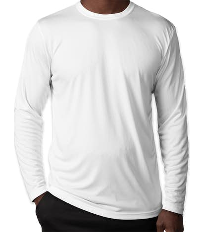Sport-Tek Competitor Long Sleeve Performance Shirt - White