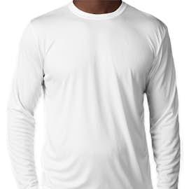 Sport-Tek Competitor Long Sleeve Performance Shirt - Color: White