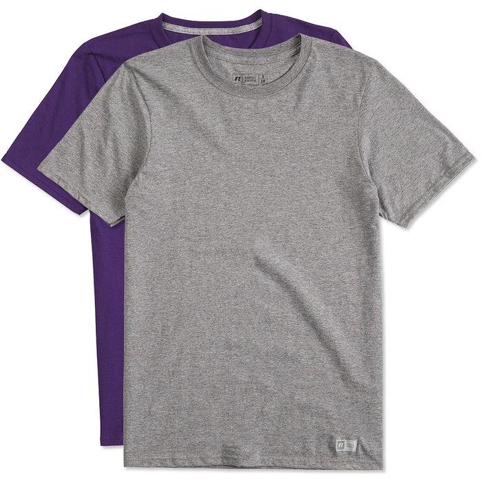 Custom Russell Athletic Performance Blend T-Shirt - Design