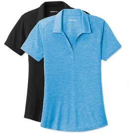 Sport-Tek Women's Tri-Blend Performance Polo