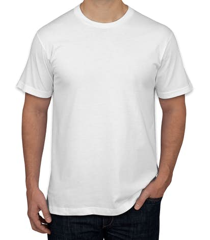 American Apparel USA-Made Jersey T-shirt - White