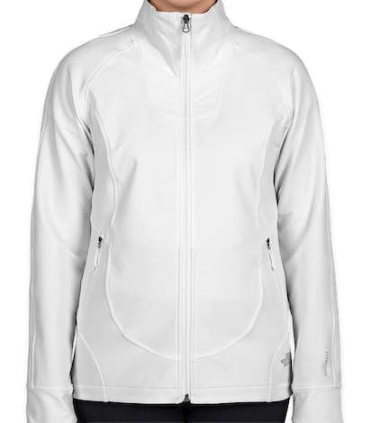 The North Face Women's Tech Stretch Soft Shell Jacket - White