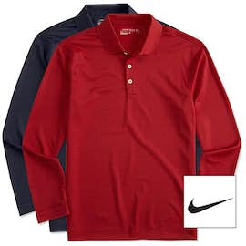 Nike Golf Dri-FIT Tech Long Sleeve Performance Polo