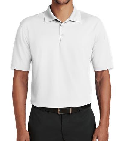 Nike Golf Dri-FIT Micro Pique Performance Polo - White