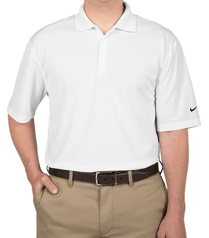 Nike Dri-FIT Micro Pique Tall Performance Polo - White