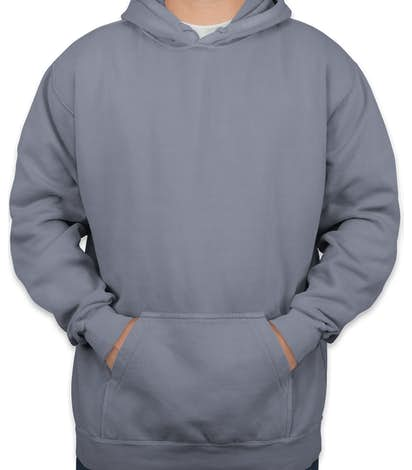 Comfort Colors Hooded Sweatshirt - Blue Jean