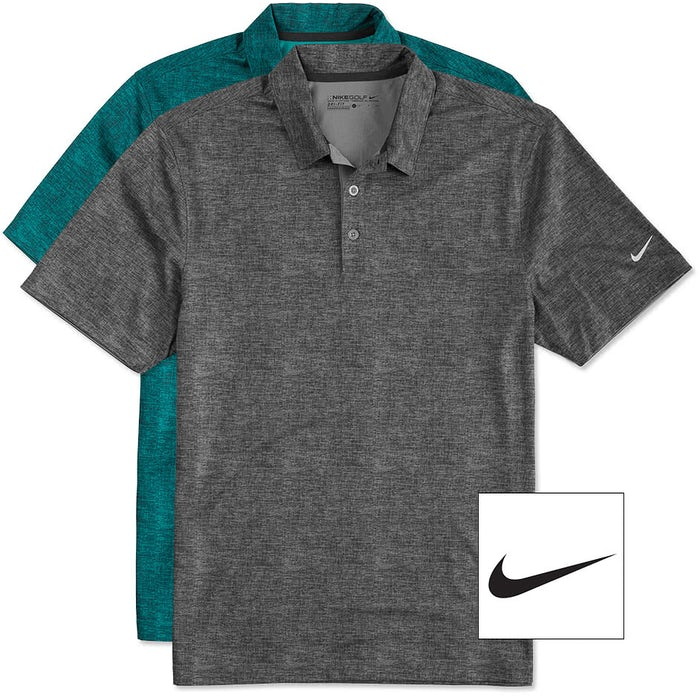 d8c81bd431c03 Custom Nike Golf Dri-FIT Crosshatch Performance Polo - Design ...
