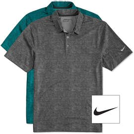 Nike Golf Dri-FIT Crosshatch Performance Polo