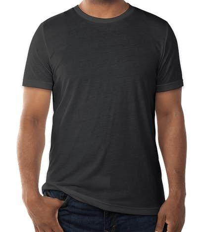 Bella + Canvas Tri-Blend T-shirt - Charcoal Black Tri-Blend
