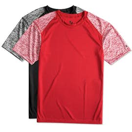 Badger Heather Sleeve Performance Shirt
