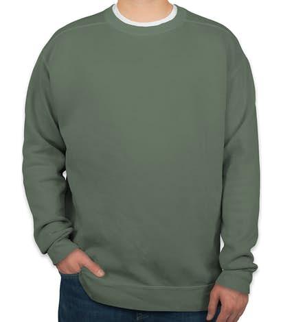 Comfort Colors Crewneck Sweatshirt - Blue Spruce