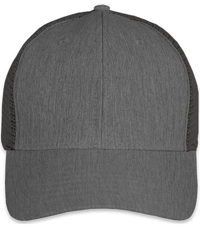 Big Accessories Urban Trucker Hat - Black / Black