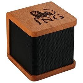 Laser Engraved Seneca Bluetooth Wooden Speaker