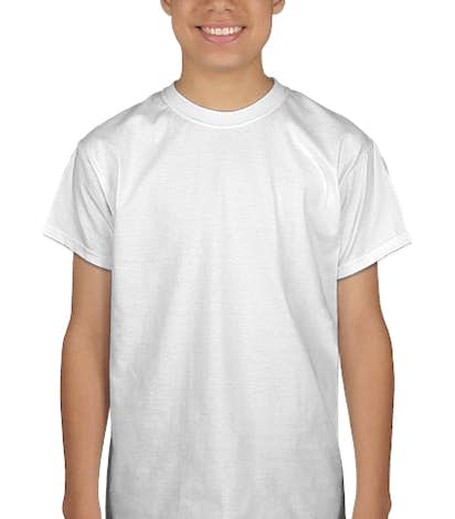 Port & Company Youth Essential T-shirt - White