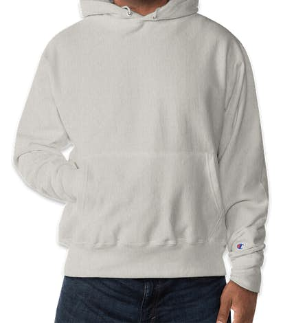 Champion Heavyweight Reverse Weave Pullover Hoodie - Oatmeal Heather