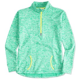 J. America Women's Cosmic Quarter Zip Performance Pullover