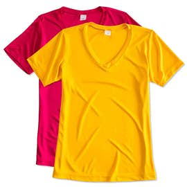 Sport-Tek Women's Competitor V-Neck Performance Shirt