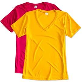 Sport-Tek Women's Competitor V-Neck Performance Shirt