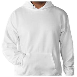 Hanes EcoSmart® 50/50 Pullover Hoodie - Color: White