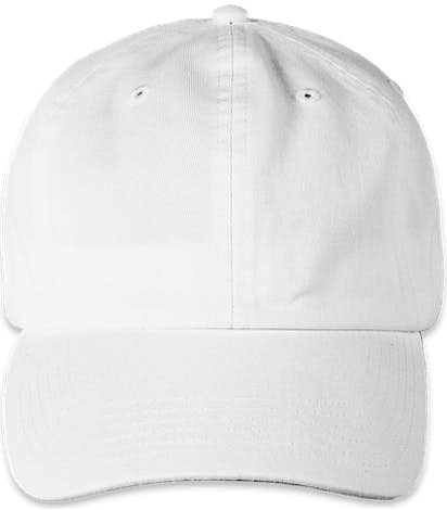 Champion Washed Twill Hat - White