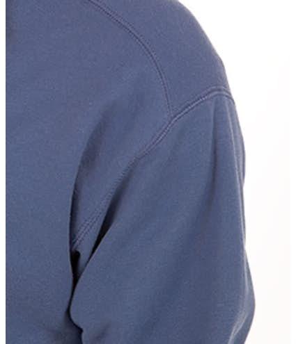 9ba228a6 Custom Hanes Nano Quarter Zip Sweatshirt - Design Quarter Zip ...