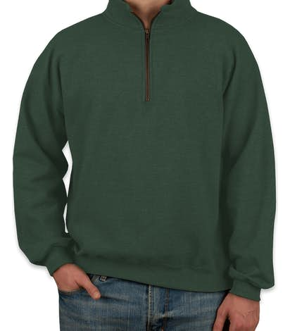 Canada - Gildan Vintage Quarter Zip Sweatshirt - Meadow