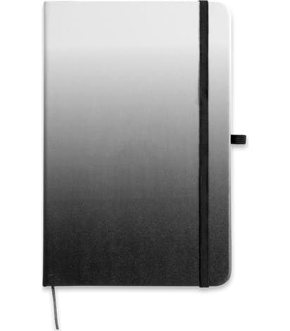 Medium Ombre Hard Cover Notebook - Black
