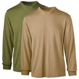 Soffe Military USA-Made 50/50 Long Sleeve T-shirt