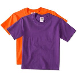 Canada - Fruit of the Loom Youth 100% Cotton T-shirt