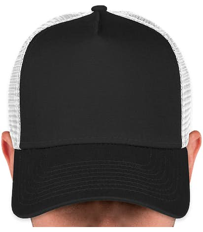 Canada - New Era 9FORTY Snapback Trucker Hat - Black / White